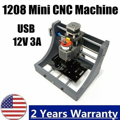New 2 Axis Mini Mill Usb Cnc Router Wood Carving Engraving Pcb Milling Machine