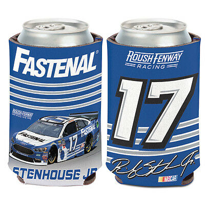 Ricky Stenhouse Jr Fastenal Can Cooler 12 Oz  Nascar Koozie