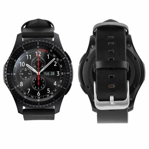 Samsung Gear S3 Frontier / Gear S3 Classic Armband Echtes Leder Band straps