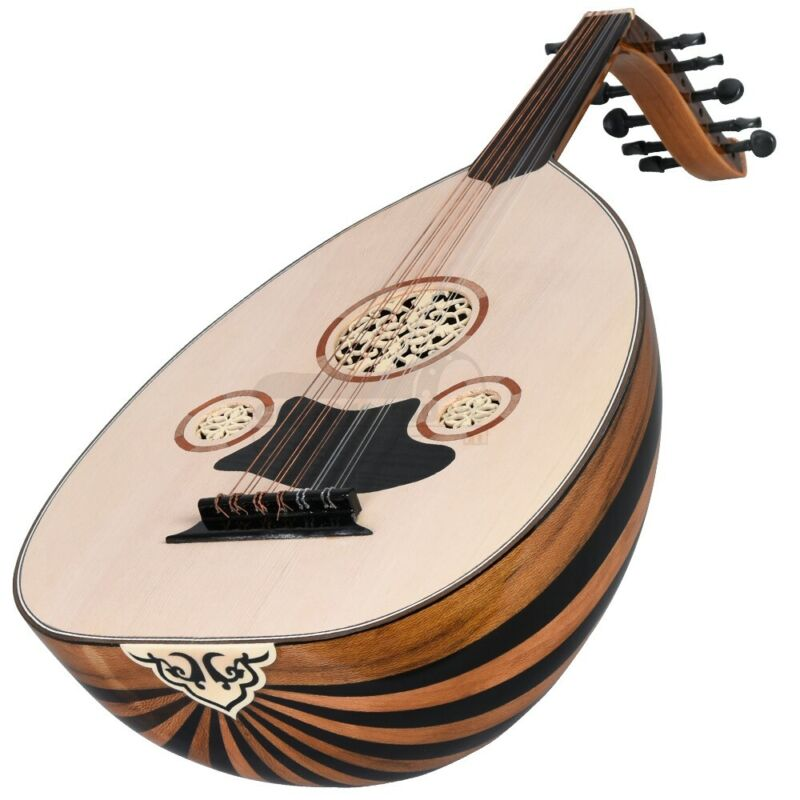 Beginners 11 String Turkish Oud (Softcase &Extra String Set Inc.) Free Shipping