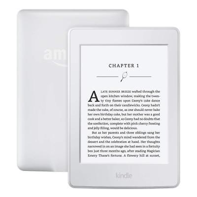 New Amazon Kindle Paperwhite White 6  High Resolution 300 Ppi Latest Version