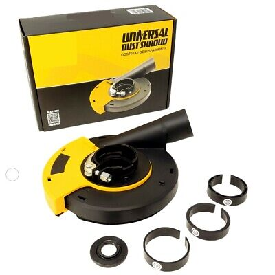 Quickt Universal Surfaceangle Grinder Dust Shroud 5 Inch - Dust Cover Collector