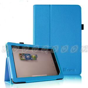 Barnes & Noble Nook HD+ 9 inch Tablet Leather Smart Case Cover/Stylus/Protector