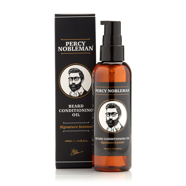 Beard Oil - A Beard Conditioning Oil by Percy Nobleman (100ml) - Signature Blend