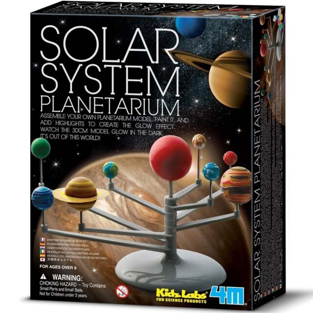 Solar System Planetarium Kit, Kids Fun Educational Science Nature Toy