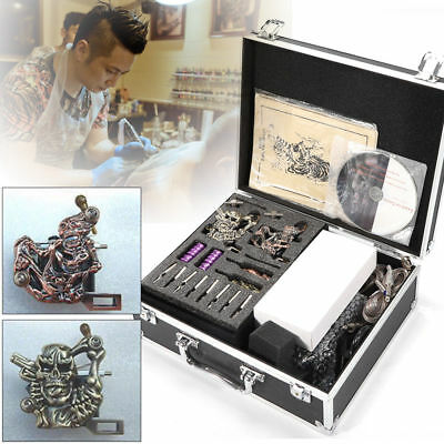 Kit completi per tatuaggi professionale tatuatori 4 Tatuaggio Macchinetta