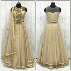 Indian pakistani Sri Lankan guynee ladies outfit Lehnga gown