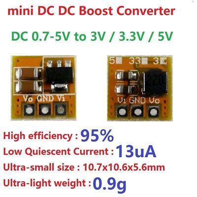 3v 3.3v 5v Dc Dc Boost Converter Step-up Voltage Regulator Power Supply Module