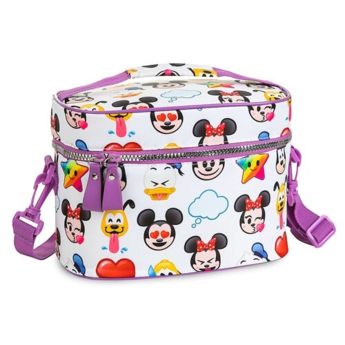 Disney Store World Of Disney Emoji School Lunch Tote Box Bag