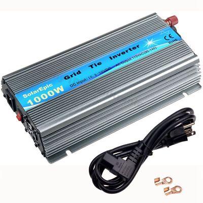 MPPT 1000W Grid Tie Inverter For 18V/36cells Solar Panel AC110V SolarEpic Power
