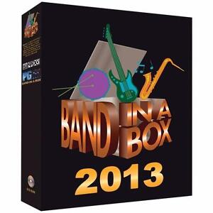 Band in a Box Pro 2013