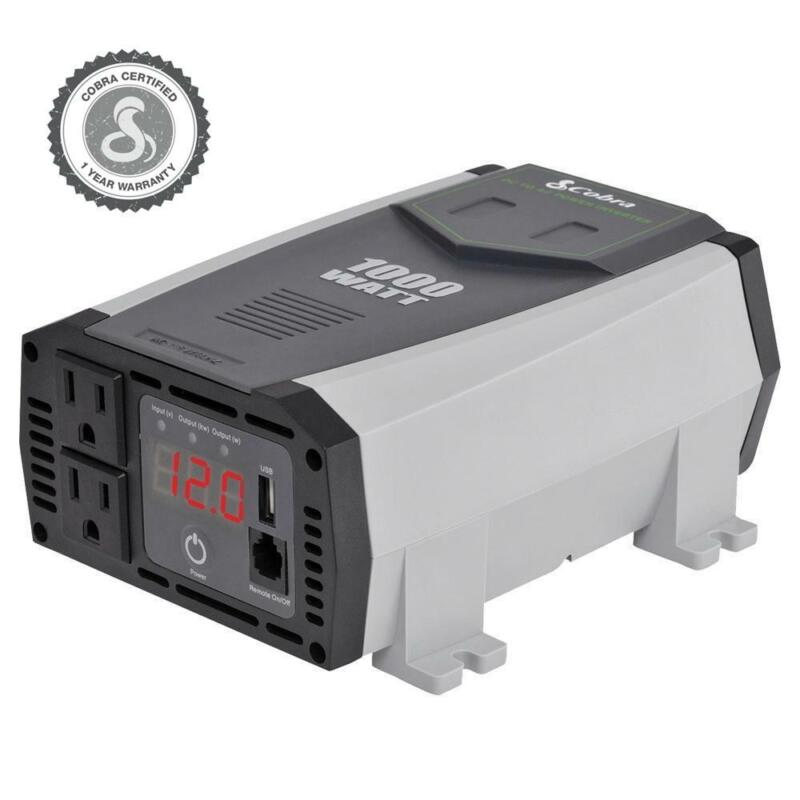 Cobra CPI 1090 Refurb 1000 Watts Power Inverter AC/DC - Cables Included