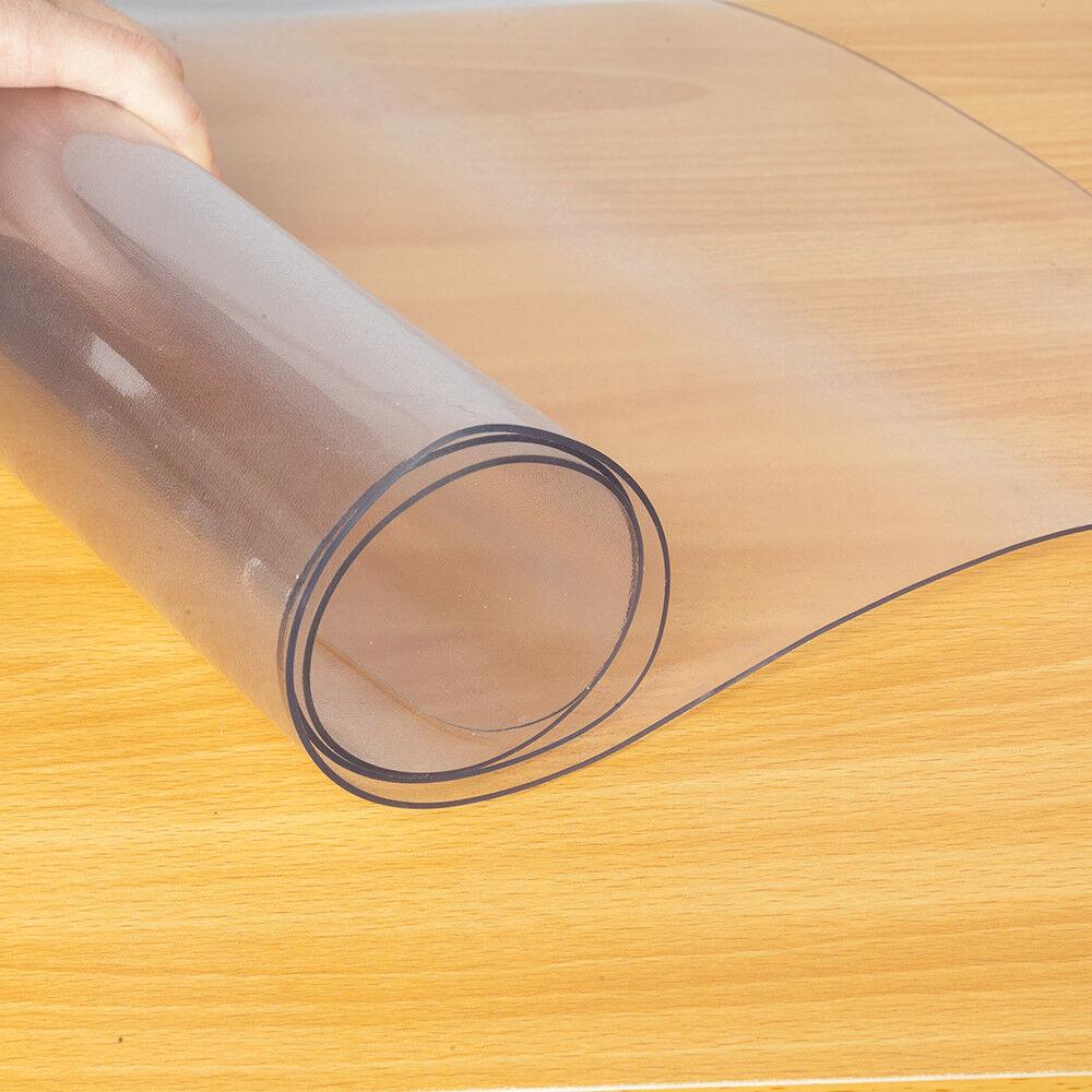 Desk Mat for Hardwood Protector Plastic Office Chair Floor F