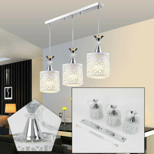 Modern Ceiling Fixture Petal Pendant Light Retro Chandelier