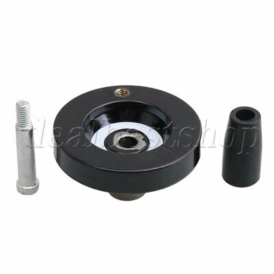 Hand Wheel 63x8mm Inside Thread Handwheel With Foldable Revolving Handle