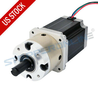 41 Planetary Gearbox Nema 23 Geared Stepper Motor 2.8a L76mm 4 Wires Cnc