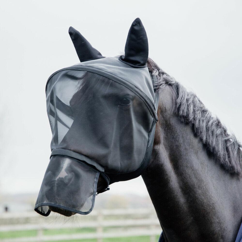 Kentucky Horsewear Fliegenmaske Pro - Schwarz