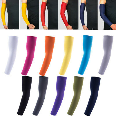 Cooling Arm Sleeves Cover Sun UV Protection fr Outdoor Sports Basketball Cycling