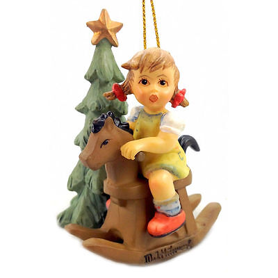 M I Hummel Cowboy Corral Ornament NIB Miniature  NEW IN BOX