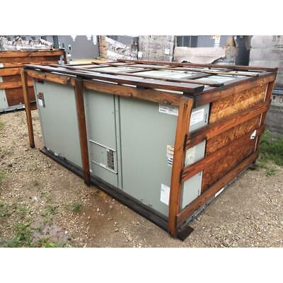 Trane Tsd150f3r0a0c0000 12-12 Ton Convertible Rooftop Downflow Ac 11 Eer