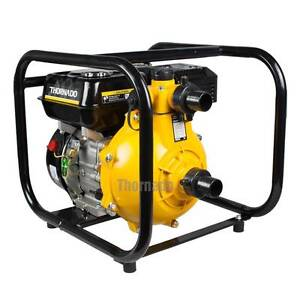 """THORNADO 1.5""""  7HP Fire Fighter Petrol Water Pump Twin Impeller Chipping Norton Liverpool Area Preview"""