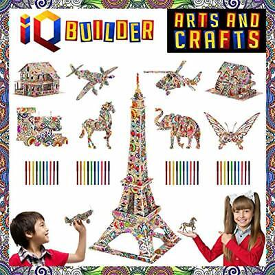 Fun Creative DIY Arts Crafts KIT Best Toy Gift For Girls Boys Age 8 9 10 11