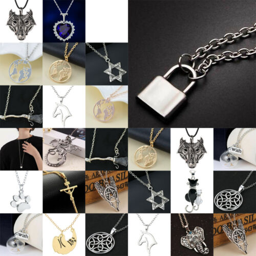 Cool Necklace For Women Men Dragon Gold Silver Necklaces Cha