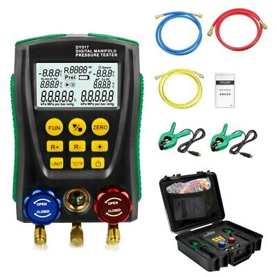 Dy517a Refrigeration Pressure Tester Digital Electronic Check Cool System Hvac
