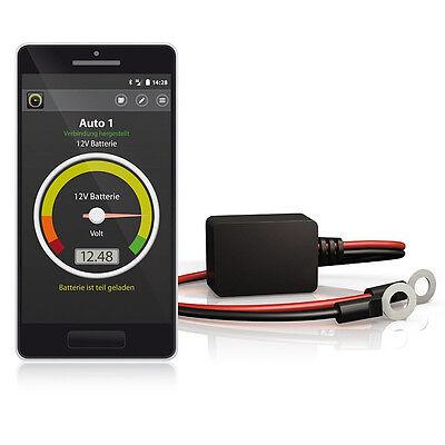BATTERY-GUARD für 6V 12V 24V Batterie Wächter Kontrolle Iphone & Android 4.3 gebraucht kaufen  Mannheim