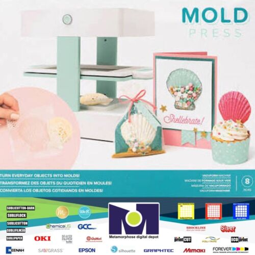 We R Mold Press Vacum Form 3D Tool Kit 8 Pieces, 661033 Free Delivery