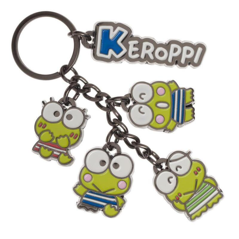 Hello Kitty Keroppi Charm Keychain
