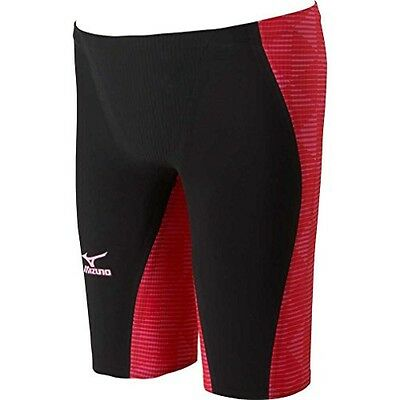 New MIZUNO Swim suit GX-SONIC III MR FINA Red N2MB6002 XL Extra Large From JP