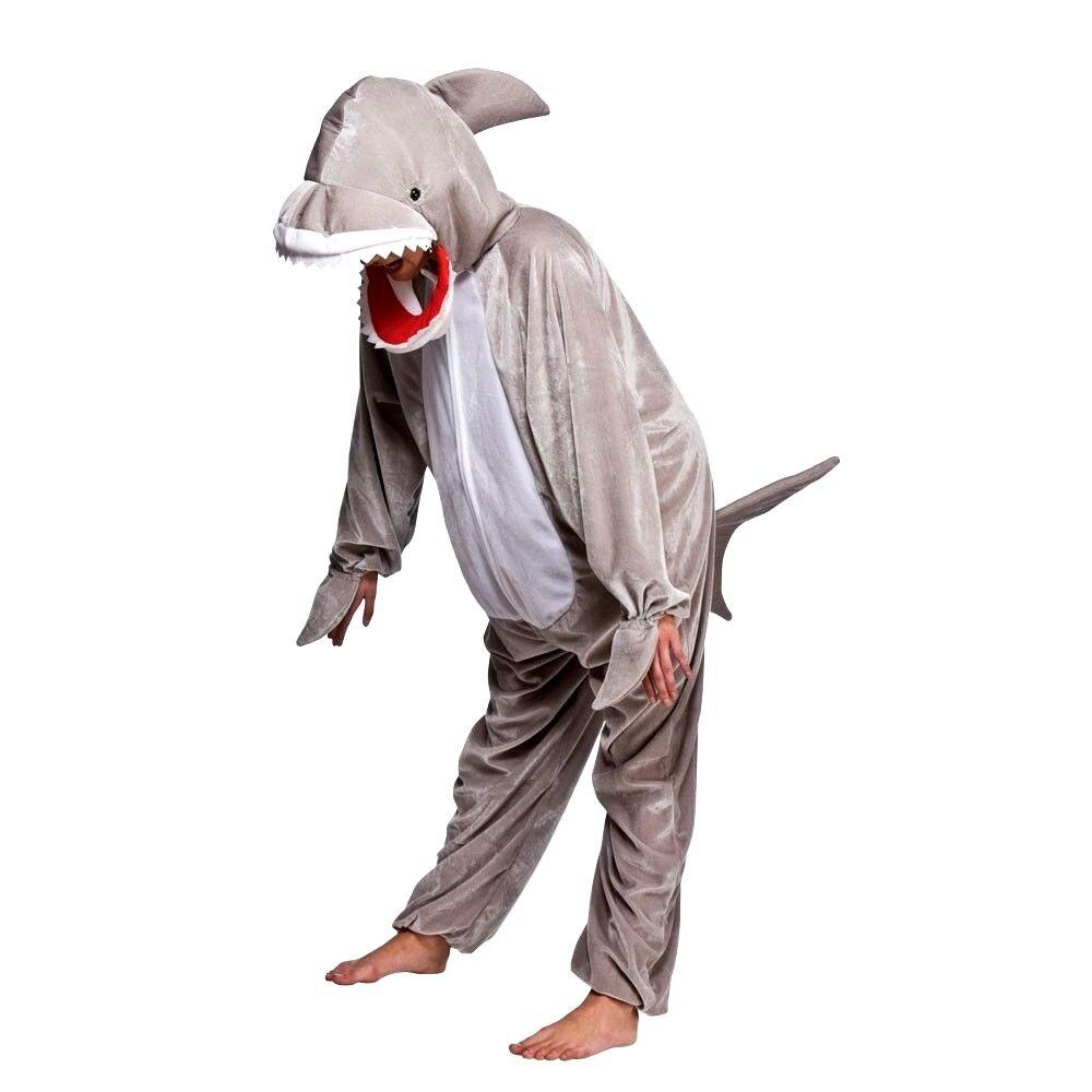 BAMBINO SQUALO Fancy Dress Outfit animale selvatico JAWS Pellicola Costume Libro Settimana scadenzario 3-13