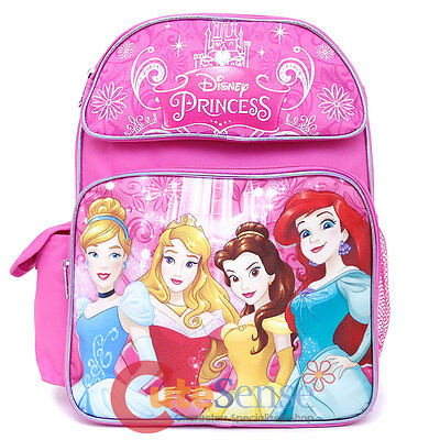 Disney Princess with Tangled School Backpack Bag -Medium - Princess With A Backpack