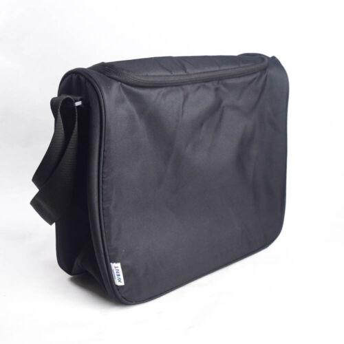 Philips Avent Baby Bottle Carrier Bag Insulated Black Crossbody Zip Top