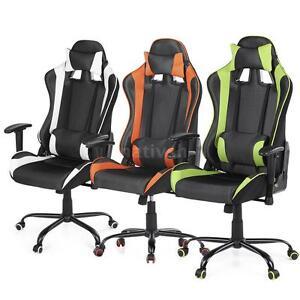 gaming chaise gamer fauteuil de bureau chaise pour. Black Bedroom Furniture Sets. Home Design Ideas