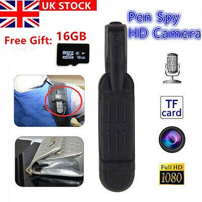 1080P HD Pocket Mini DV Hidden Spy Pen Camera Video Audio Recorder Camcorder UK