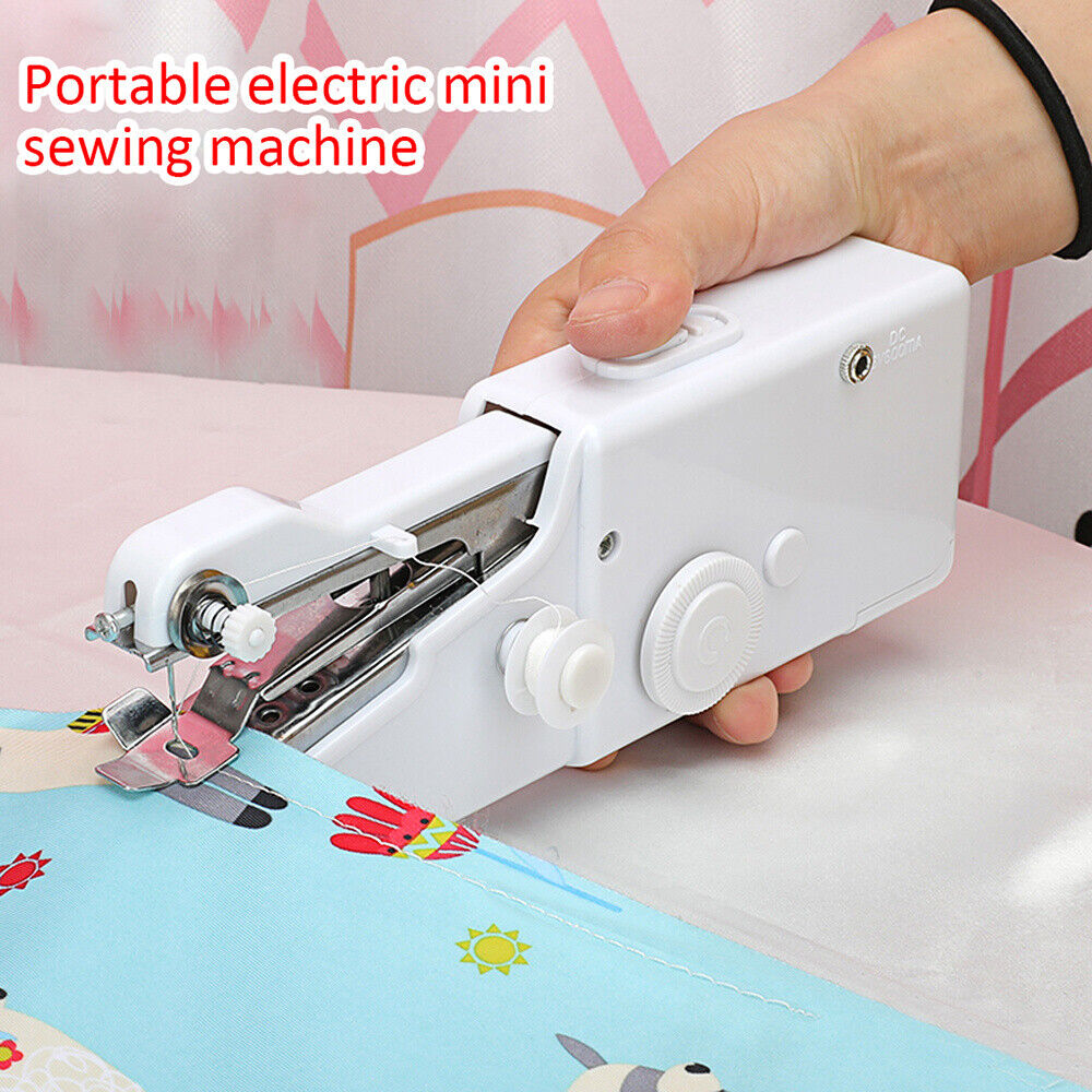 Mini Portable Smart Electric Tailor Stitch Hand-held Sewing Machine Home Travel