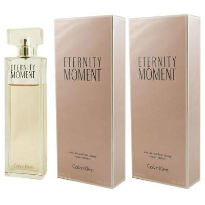 Calvin Klein Eternity Moment 2 x 100 ml Eau de Parfum EDP Set ()