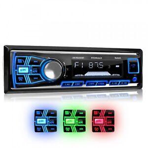 RADIO-DE-COCHE-AUTORRADIO-CON-BLUETOOTH-MANOS-LIBRES-ALTAVOZ-USB-SD-AUX-MP3-1DIN