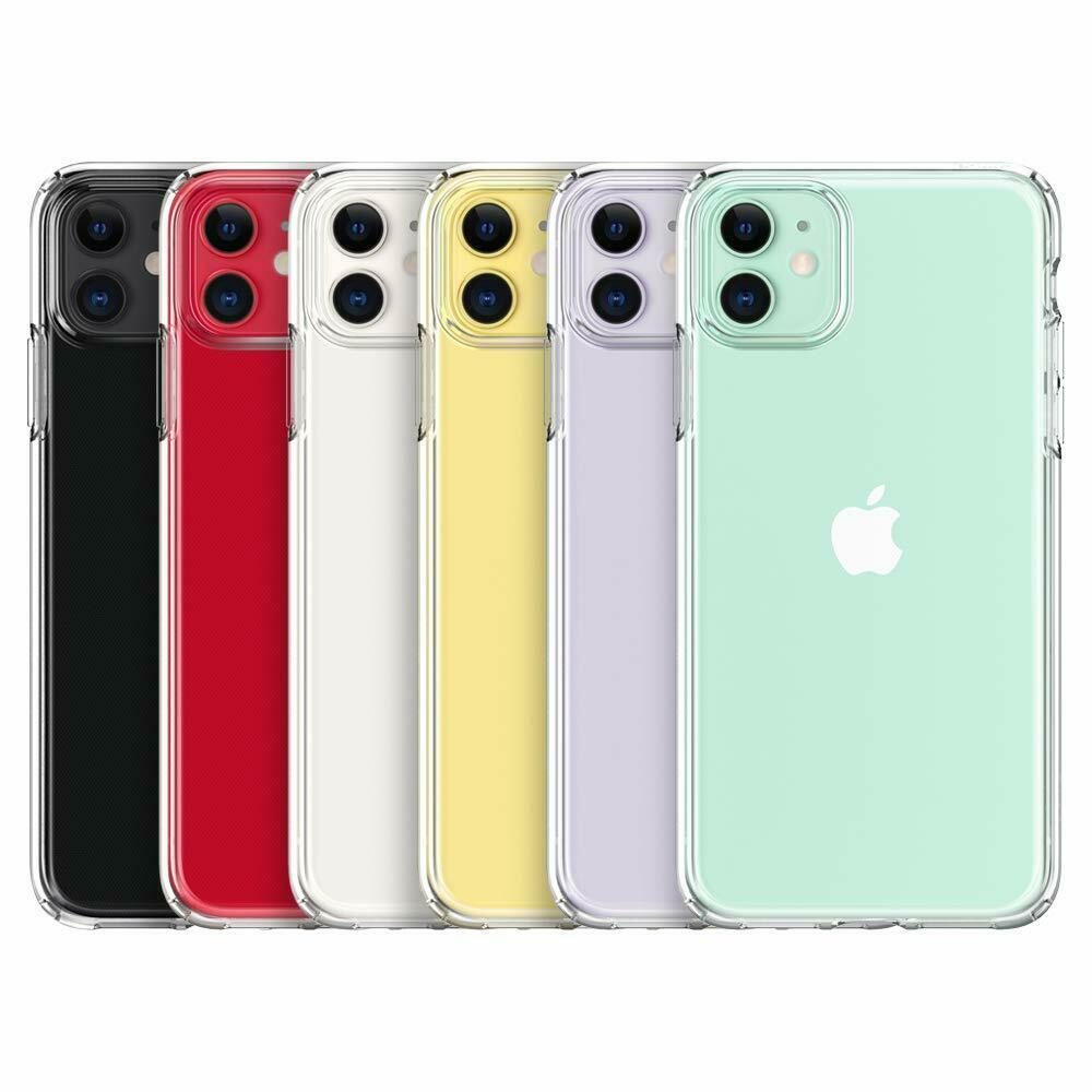 For Apple iPhone 11 2019 Hybrid Shockproof Thin Slim Clear Hard TPU Case Cover Cases, Covers & Skins