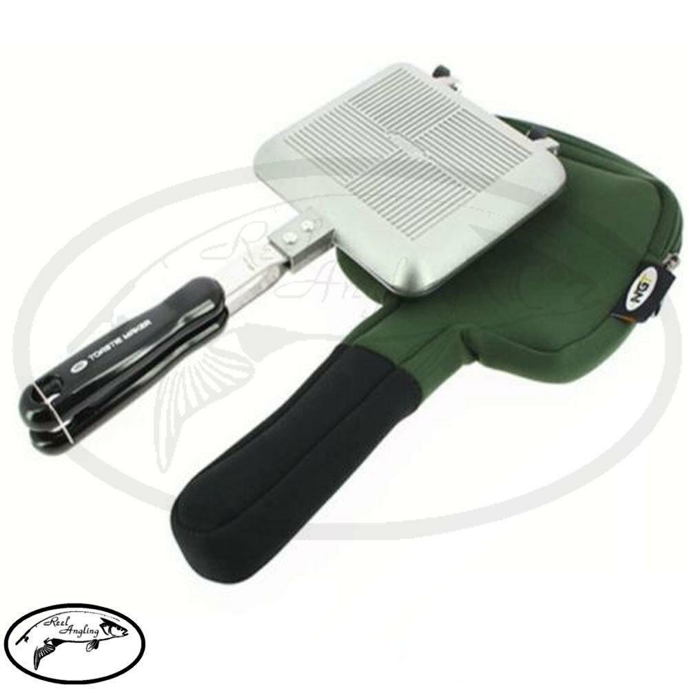 NGT Toasty Cooking Sandwich Maker With Neoprene Case Bag Fishing Camping Set