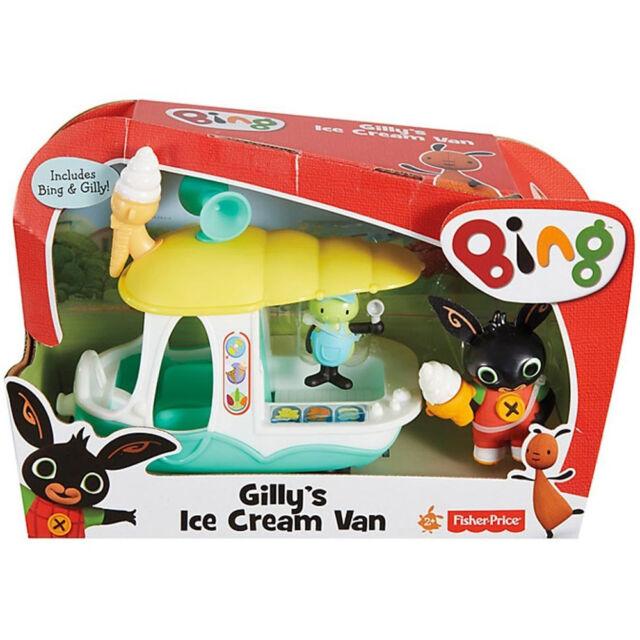 Bing Bunny Gilly's Ice Cream Van Playset Fisher Price