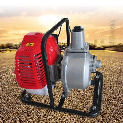 1 Inch High Flow Water Transfer Pump Kit Irrigation Petrol 2 Stroke 2hp Engine