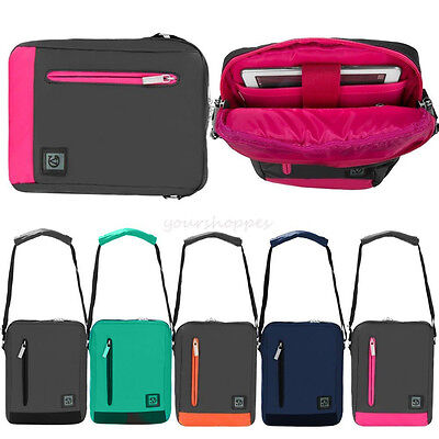 "Tablet Messenger Shoulder Bag Pouch Case For 7.9""-9.7""iPad/8""-10.5""Samsung Tab"
