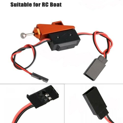 Waterproof RC Boat Receiver On/Off Power Switch w/Aluminum M