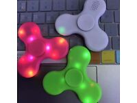TOP SELLING ITEM ON EBAY, AMAZON Bluetooth LED Spinners Fidgets for Wholesale Only