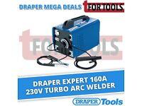 Draper Expert 160A 230V Turbo Arc Welder