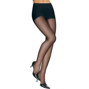 734a77c37 L eggs Sheer Energy Control Top RT Pantyhose 65200 - Jet Black Size ...