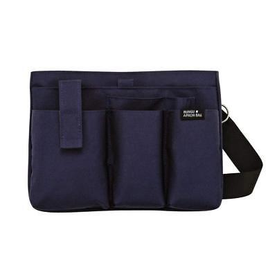 Kutsuwa Japan Stationery Apron Bag Woman West Pouch Pen Mobile Phone Storage Nb